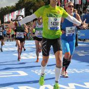 Mindaugas at the 2015 Berlin Marathon