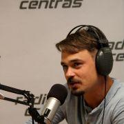 Leo on the radio