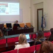 Street Child visit to Vilnius University