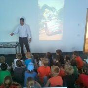 Ben at Vilnius International School