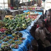 Market in Makeni