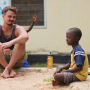 Leo at the Street Child Centre