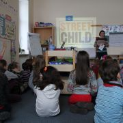 Helen from Street Child at Vilnius International School
