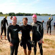 Ben, Leo & Matt at the Kupiskis Triathlon