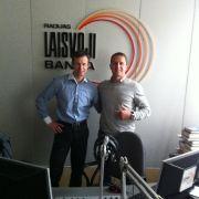 Radio show with Mindaugas & Rytis