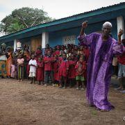 Village primary school in Tambakha