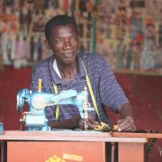 Roadside sewing